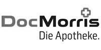 DocMorris Logo schwarz-weiß