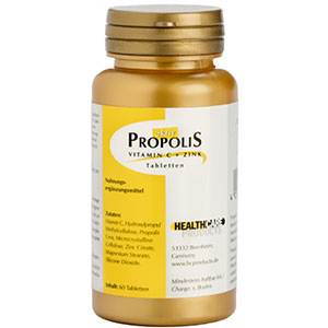 Propolis Vitamin C Tabletten mit Zink